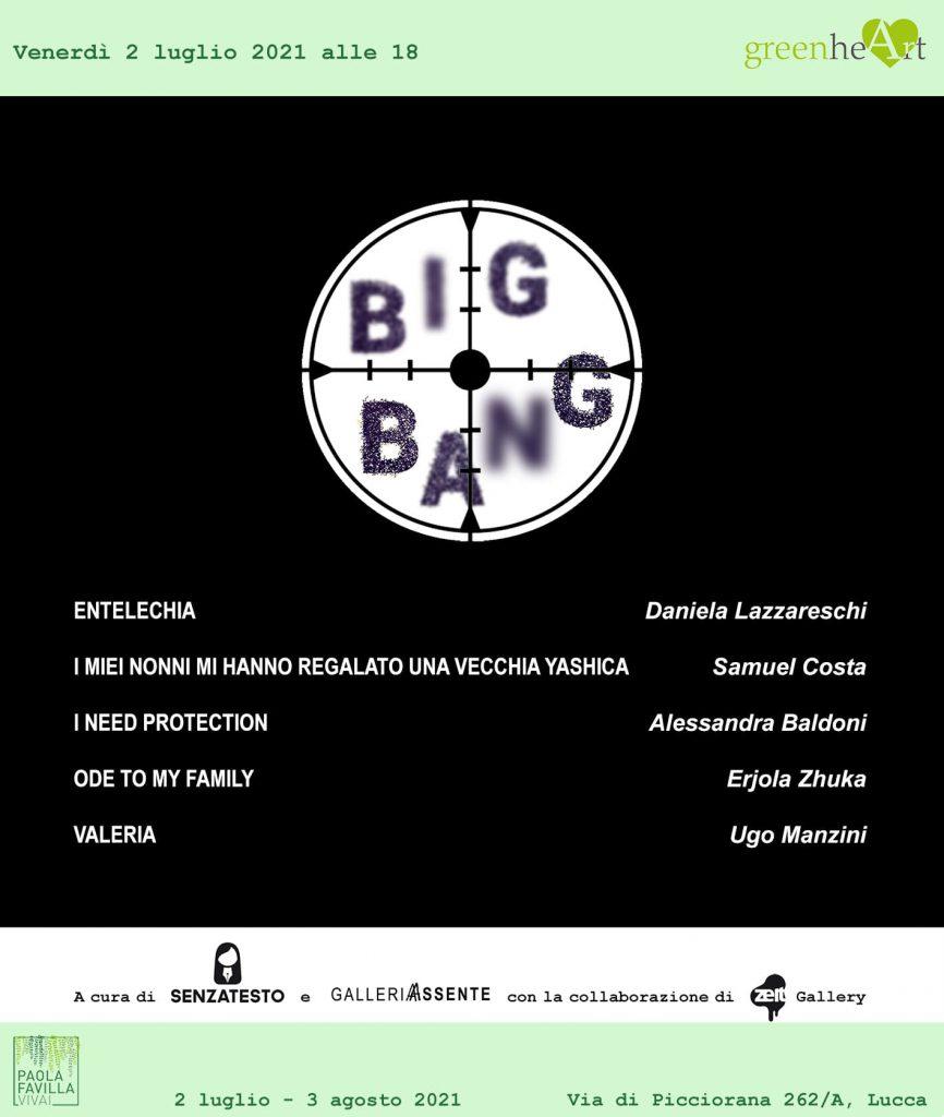 Big Bang, mostra fotografica